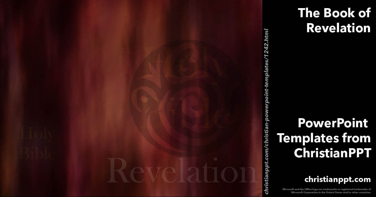 The Book Of Revelation Christian Powerpoint Templates