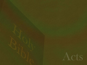 The Book Of Acts Christian Powerpoint Templates
