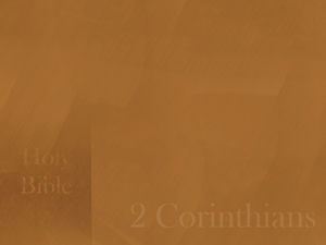 The Book of 2 Corinthians Christian PowerPoint Templates