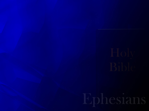 The Book of Ephesians Christian PowerPoint Templates