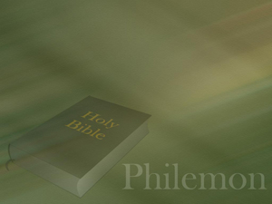 The Book of Philemon Christian PowerPoint Templates