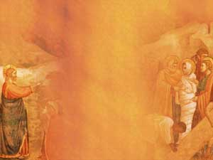 Raising of Lazarus Christian PowerPoint Templates