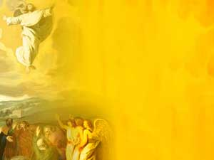 Ascension of jesus powerpoint templates themes and backgrounds christian powerpoint templates toneelgroepblik Gallery