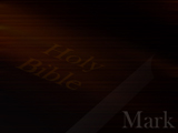 The Book of Mark Christian PowerPoint Templates