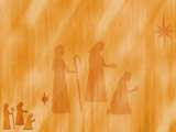 Three Wise Men Christian PowerPoint Templates