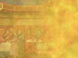 First Miracle (Marriage at Cana) Christian PowerPoint Templates