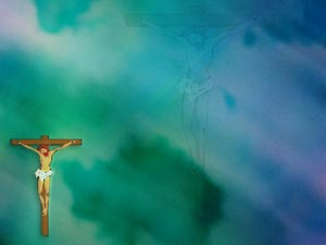 Crucifixion of Jesus Christ Christian PowerPoint Templates