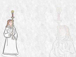 Acolyte Christian PowerPoint Templates