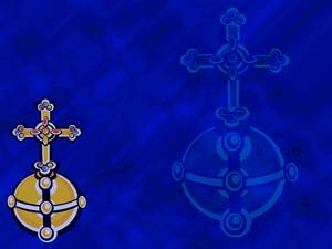 Ceremonial Orb Christian PowerPoint Templates