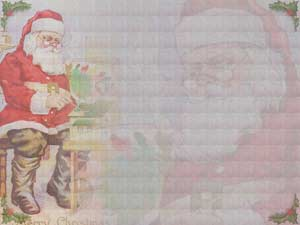 Santa Claus Christian PowerPoint Templates