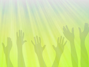 Worship Hands 03 Christian Powerpoint Templates