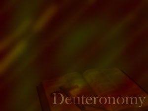 The Book of Deuteronomy Christian PowerPoint Templates