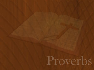 The Book of Proverbs Christian PowerPoint Templates