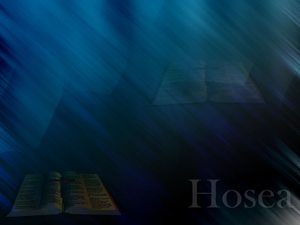 The Book of Hosea Christian PowerPoint Templates