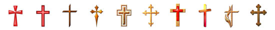 Free Christian Embellishments - Cross Embellishments