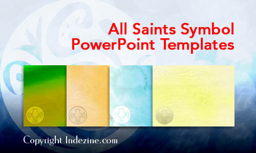 All Saints Symbol Christian PowerPoint Templates