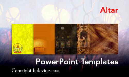 Altar Christian PowerPoint Templates
