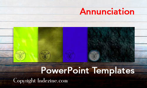 Annunciation PowerPoint Templates