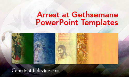 Arrest at Gethsemane Christian PowerPoint Templates