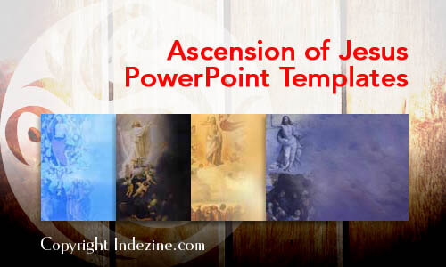 Ascension of Jesus PowerPoint Templates