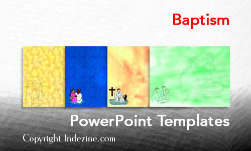 Baptism Christian PowerPoint Templates