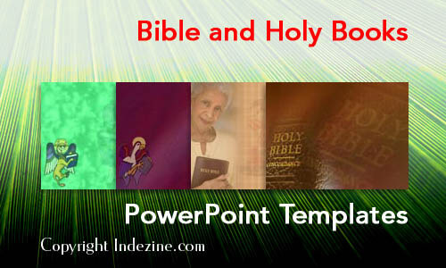 Bible and Holy Books Christian PowerPoint Templates