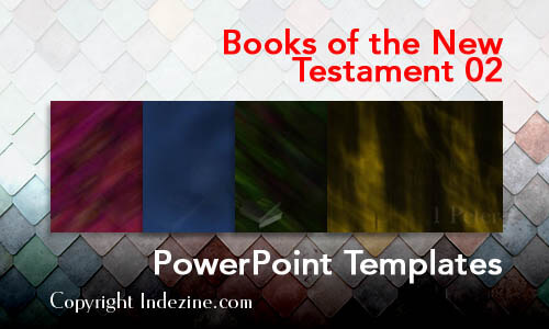 Books of the New Testament 02 PowerPoint Templates