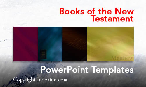 Books of the New Testament Christian PowerPoint Templates