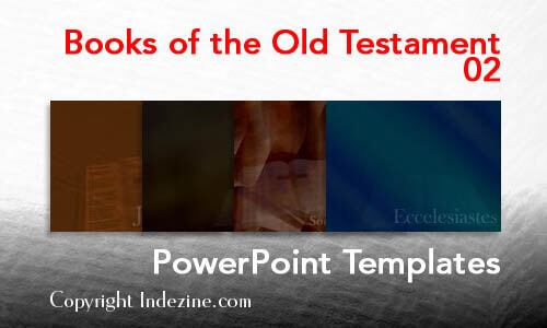 Books of the Old Testament 02 Christian PowerPoint Templates