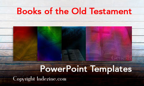 Books of the Old Testament Christian PowerPoint Templates
