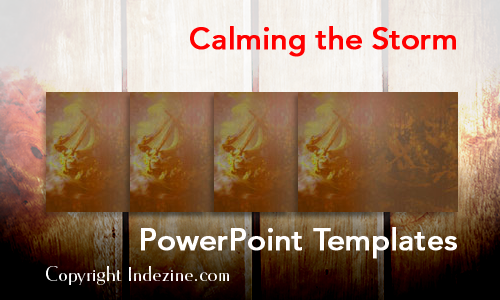 Calming the Storm PowerPoint Templates
