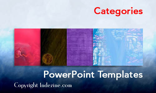 Christian PowerPoint Template Categories