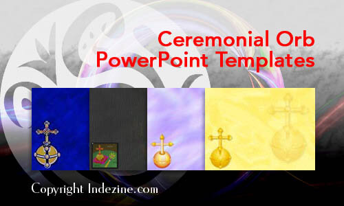 Ceremonial Orb PowerPoint Templates