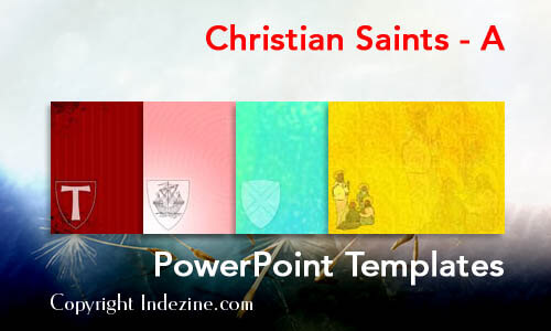 Christian Saints - A Christian PowerPoint Templates