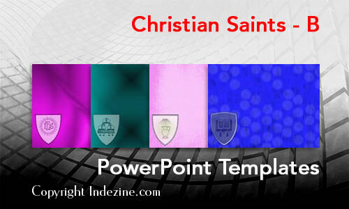 Christian Saints - B Christian PowerPoint Templates