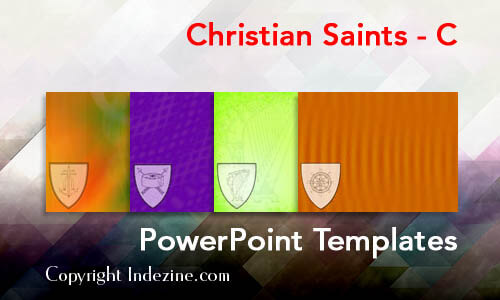 Christian Saints - C Christian PowerPoint Templates