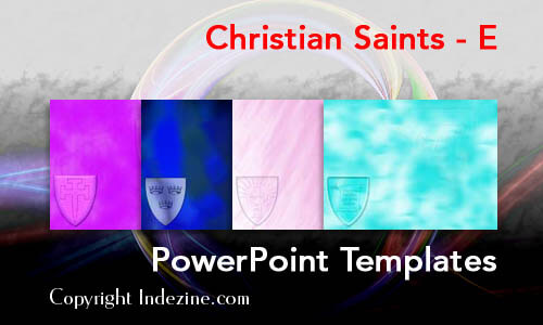 Christian Saints - E Christian PowerPoint Templates