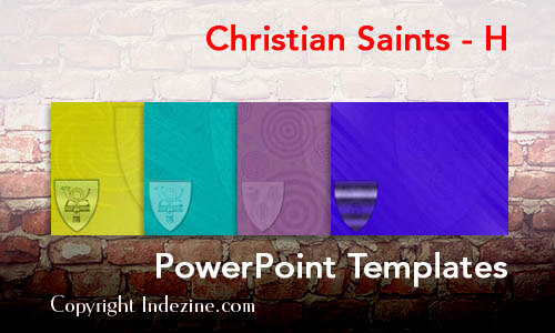 Christian Saints - H Christian PowerPoint Templates