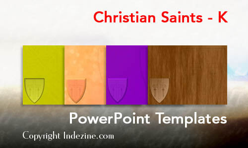 Christian Saints - K Christian PowerPoint Templates