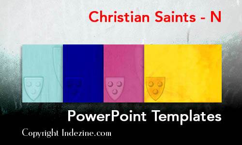 Christian Saints - N Christian PowerPoint Templates