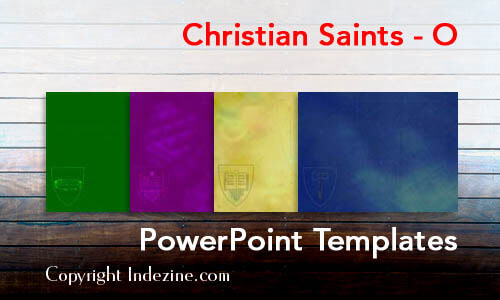 Christian Saints - O Christian PowerPoint Templates