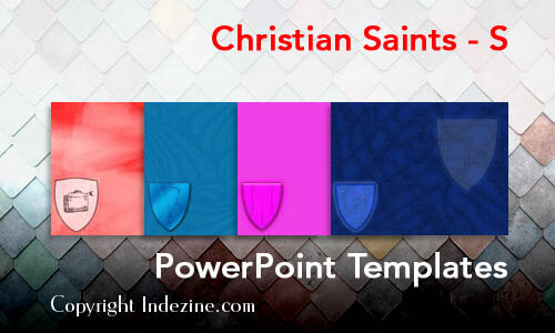 Christian Saints - S Christian PowerPoint Templates