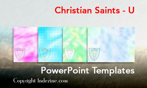 Christian Saints - U Christian PowerPoint Templates