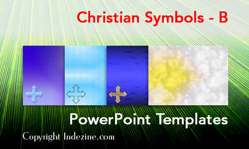 Christian Symbols - B Christian PowerPoint Templates