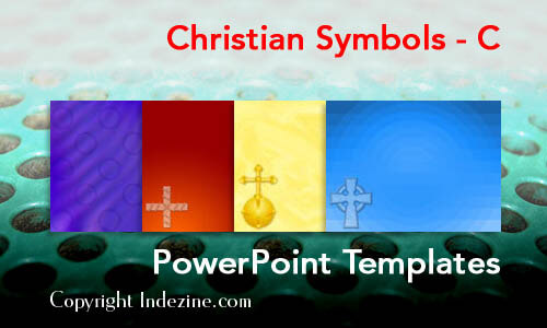 Christian Symbols - C Christian PowerPoint Templates