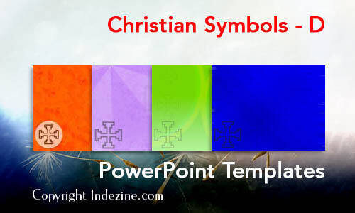 Christian Symbols - D Christian PowerPoint Templates