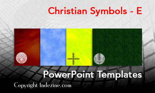 Christian Symbols - E Christian PowerPoint Templates