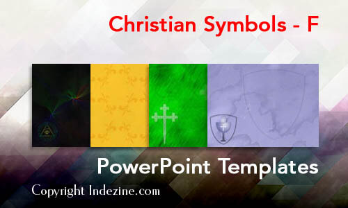 Christian Symbols - F Christian PowerPoint Templates