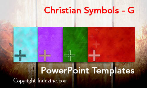 Christian Symbols - G Christian PowerPoint Templates