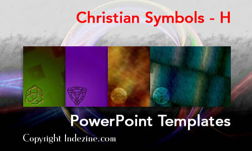 Christian Symbols - H Christian PowerPoint Templates